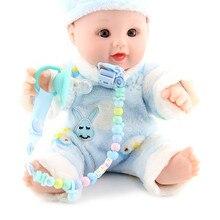 Baby Food Grade Silicone Pacifier Nipple Round Anti-lost Chain Clip Cadena Chupete Dummy Silicona Atache Tetine Personalise 1pcs