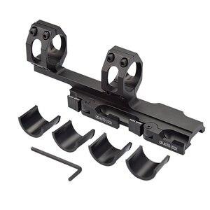 Image 5 - QD Auto Schnell Release Zielfernrohr Montieren Ringe 30mm/25mm Cantilever für 20mm Picatinny Schiene Optik