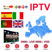 IPTV M3U Enigma2 IPTV Italy subscription Germany Belgium French Romania Channels Spain Portugal Brazil For Android Box Smart TV best italian super iptv subscription for italy portugal uk germany spain albania support m3u mag250 android smart tv box enigma2
