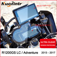Moto Cluster Scratch Protection Film Instrument Dashboard Cover Guard Blu-ray for BMW R1200GS LC Adventure ADV R1200/R 1200 GS r e m by mtv blu ray
