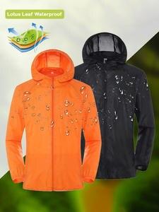 Hiking Jacket Windbreaker Hunting-Clothes Sports-Coats Waterproof Anti-Uv Outdoor Women