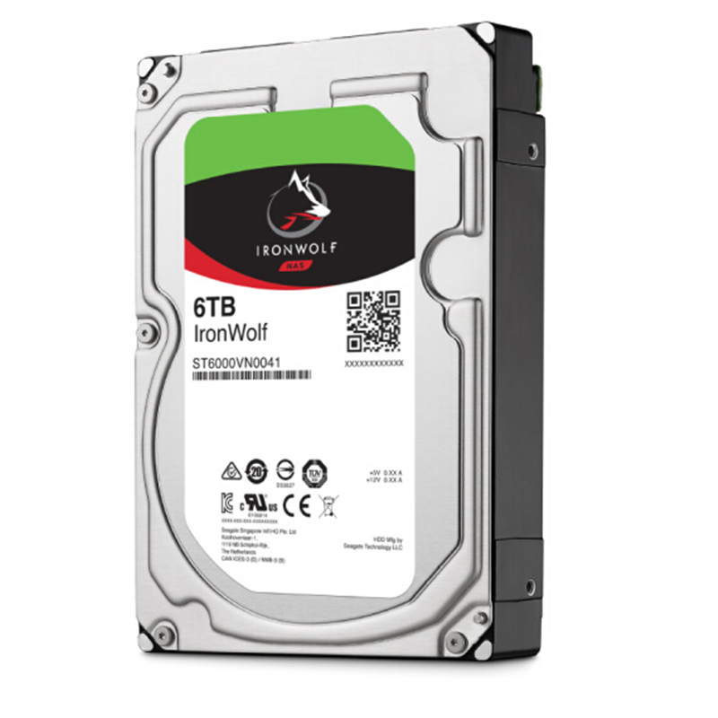 """New HDD For Seagate Brand IronWolf 6TB 3.5"""" SATA 6 Gb/s 128MB 7200RPM For Internal HDD For EnterpriseHDD For ST6000VN0033/0041 6"""