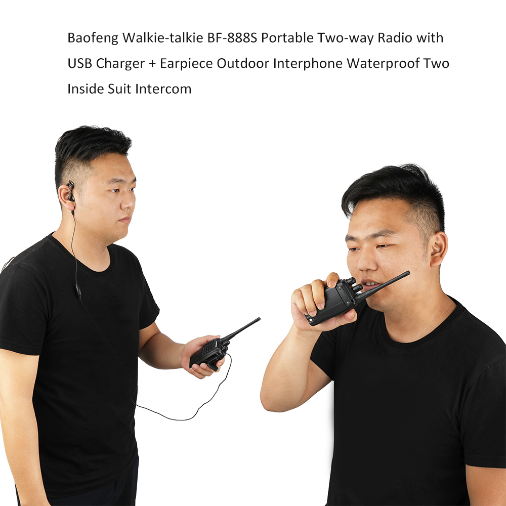 Image 2 - 2pcs Walkie Talkie Professional CB Radio Station Baofeng 