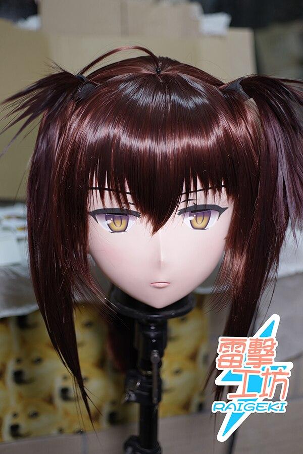 (RAIGEKI MAKS 82) Смола Трансвестит кукла BJD кигуруми аниме военный корабль девушки Hatsuzuki голова для косплея маска