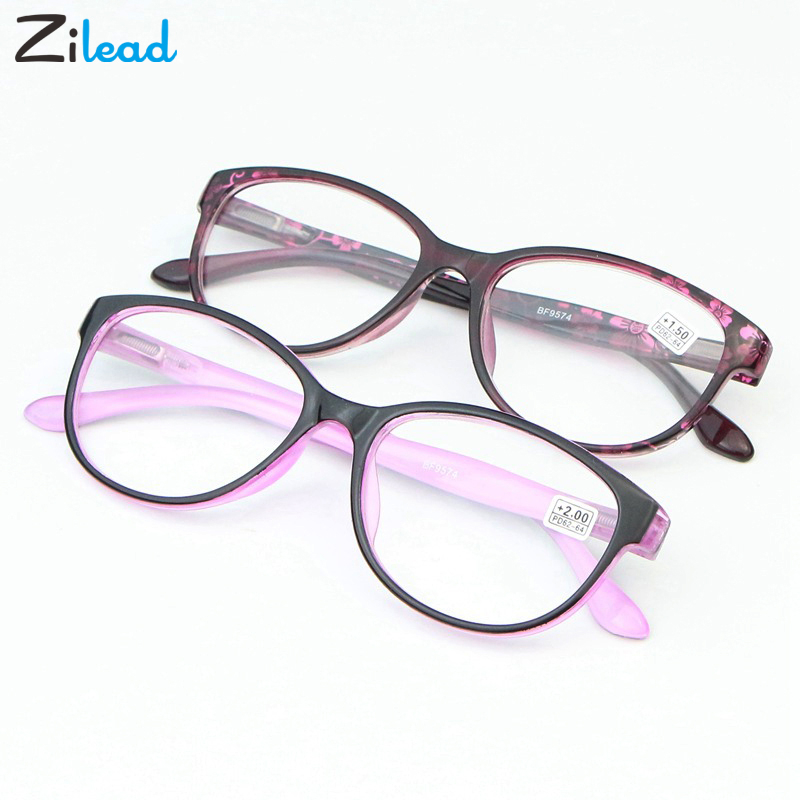 Zilead Men Women Reading Glasses Women Eyeglasses Presbyopic 1.0 1.25 1.5 1.75 2.0 2.25 2.5 2.75 3.0 3.5 4.0 Men Eyewear Oculos