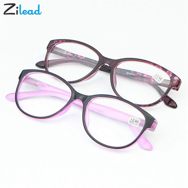 Zilead Men Women Reading Glasses Women Eyeglasses Presbyopic 1.0 1.25 1.5 1.75 2.0 2.25 2.5 2.75 3.0 3.5 4.0 Men Eyewear Oculos