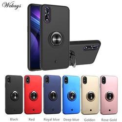 На Алиэкспресс купить чехол для смартфона holder shockproof armor ring case on the for vivo y7s z5 z1x v17neo v17 pro y15 y17 y12 u1 u10 y11 y3 y7s y71 phone case cover