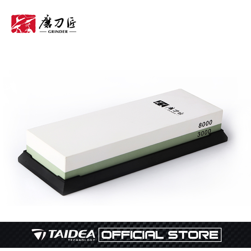 GRINDER Whetstone Professional Knife Sharpener <font><b>8000</b></font>/<font><b>3000</b></font> <font><b>Grit</b></font> Grinding Sharpening oil Stones tool sharpening stone TAIDEA image
