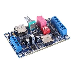Image 3 - WAV MP3 音声モジュール 10 ワットサウンドプレイヤー DC 12 V 24 V プログラマブル制御サポート TF カード U  ディスク