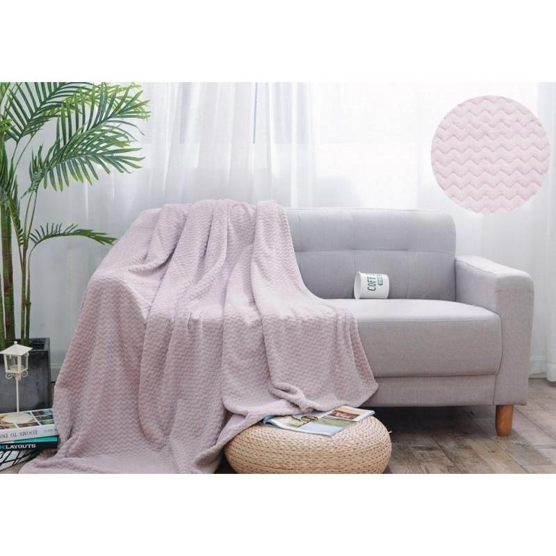 Plaid double АльВиТек, SOFT PLUSH, 180*200 cm, 020 плед cleo royal plush 180 020 rp светло розовый 180 х 200 см