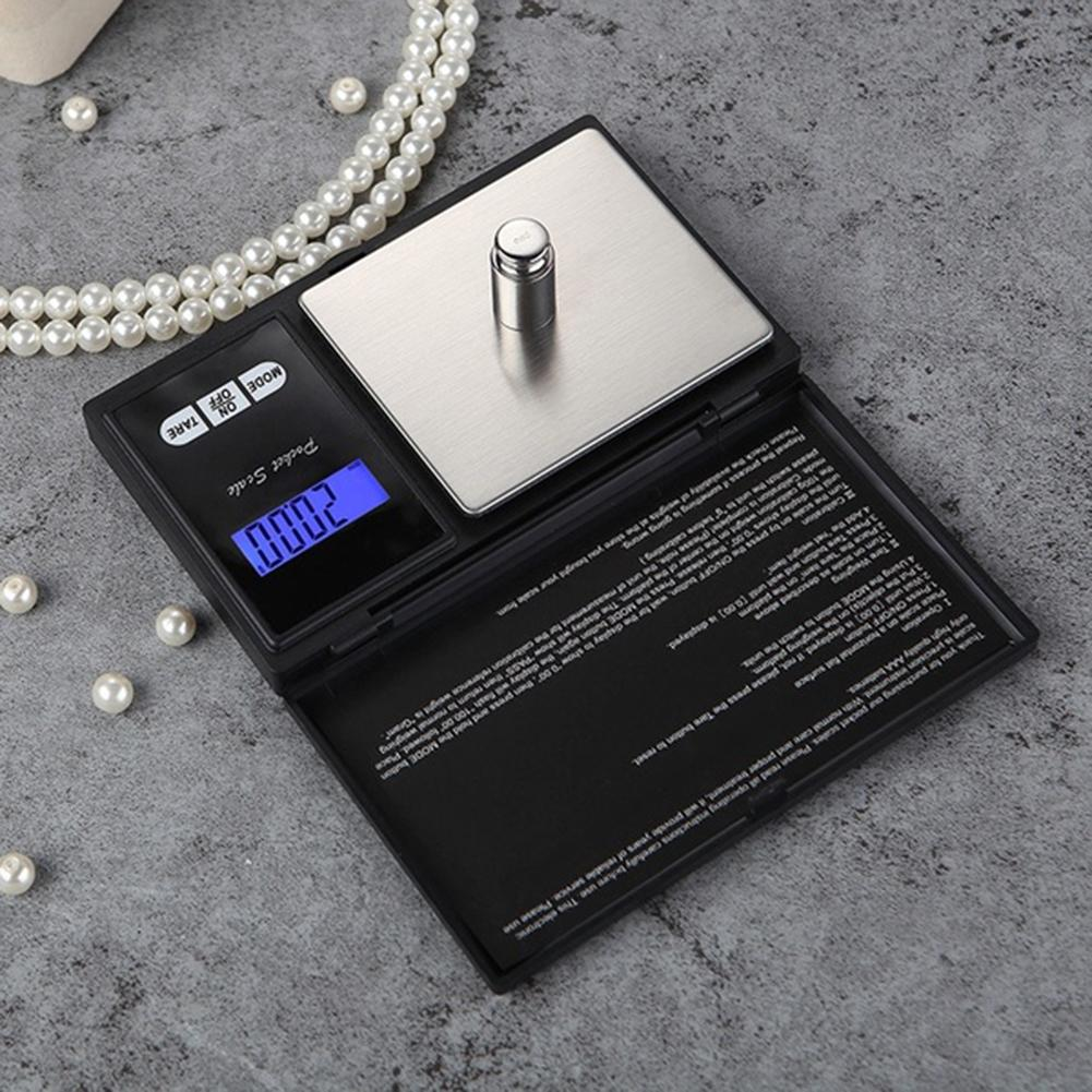 Digital Scale 100/200/300/500/1000g 0.01/0.1g Precise LCD Display Pocket Scale Gram Weight For Kitchen Jewelry Drug