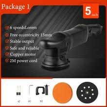 1250w high speed CLOVER 15mm track double action polishing machine DA15 Plus