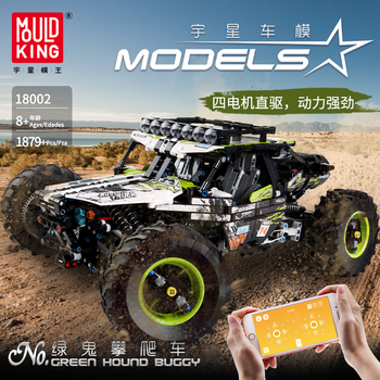APP RC Climbing Truck Car Technic Series Off-road Vehicle Model Kit Compatible Lepining Building Blocks Bricks Toys For Children lepin 23011 2959pcs technic series off road vehicle compatible with moc 5360 model building sets blocks bricks educational toys