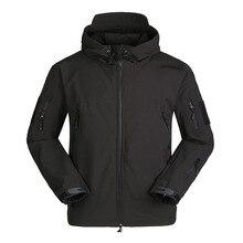 Tactical Fleece Jacket Soft Windproof Warm Jacket Military Camouflage Fleece Jacket Outdoor Hunting Camping Climbing Equipment стоимость