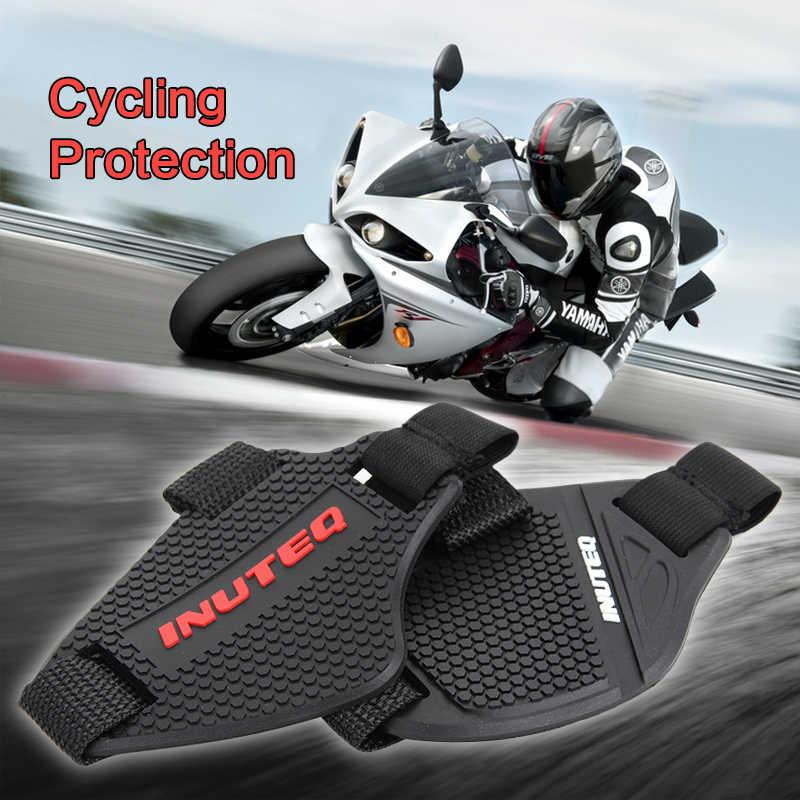 Scarpe Da moto ciclismo Protezione off road freno In Gomma di protezione per moto bootsprotection gear Per La Guida scarpe