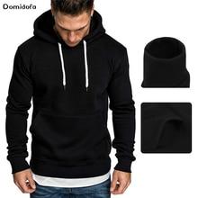 2019 New fashion thick fleece hoodies men hot sale brand clothing spring winter sweatshirts male quality tracksuit