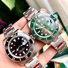Moda 904l aço inoxidável luxo marca negócios relógios de pulso para relógio masculino aaa automático relógio mecânico