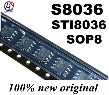 10pcs/lot 100pcs/lot 1000pcs/lot STI8036BB STI8036BE S8036 SOIC8