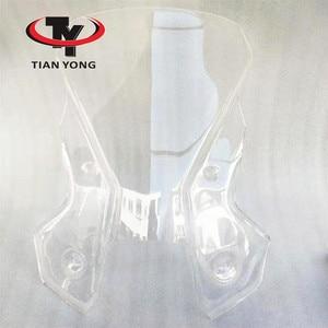 Image 5 - Smoke Black Motorcycle Accessories For KTM 1190 1090 ADVENTUER Windshield Heightening Wind Deflectore raise Windscreen Spoiler