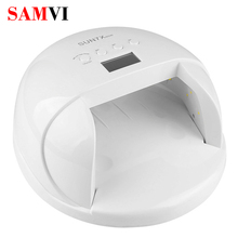 SAMVI SUN7X 60W UV Lamps Professional UV led Lamp Nail Best Curing Lamp For Nails Dryer with 4 Timers LED UV Lamp Nails Lampa