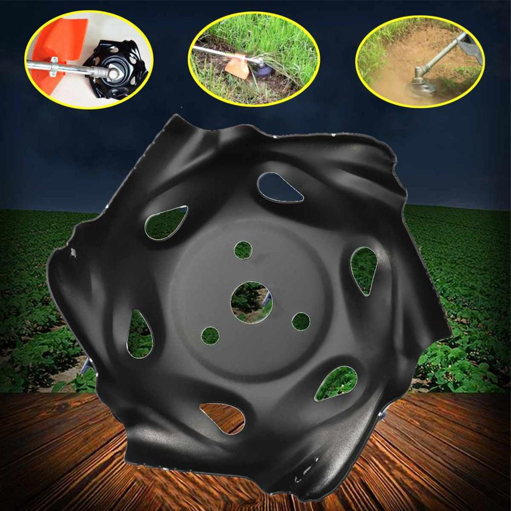 Universal Garden Grass Trimmer Head For Lawn Mower Weed Trimmer Metal Mowing Lawnmower Parts Electric Brush Cutter Blade Tray