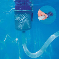 Swimming Pool Surface Skimmer Wall Mount Vacuum Cleaner Filter Automatic Skimm Suction Head Fountain Fishpond Cleaning Tool