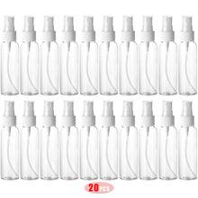 Flacon pulvérisateur liquide 60ML Portable multifonction désinfection alcool coiffeur fleur arrosage Pot flacon vide plastique