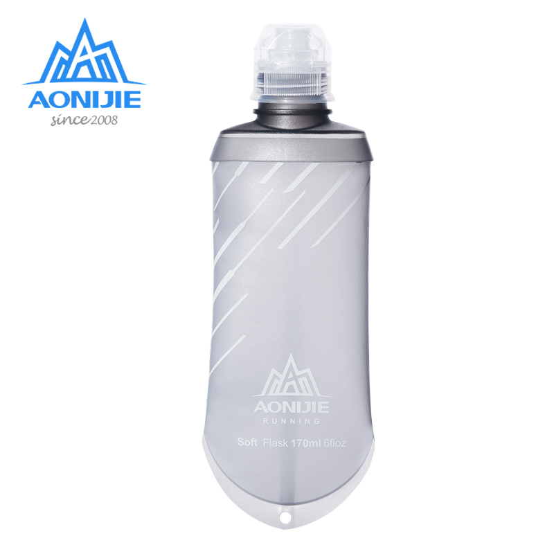 AONIJIE SD23 TPU Collapsible 170ML Sports Nutrition Energy Gel Soft Flask Water Bottle Reservoir For Marathon Hydration Pack