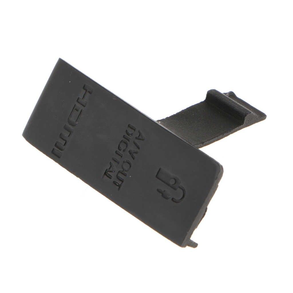 Rubber Body USB Cover Lid Cap for Canon EOS 5D2 5D Mark II Digital Camera Repair Parts