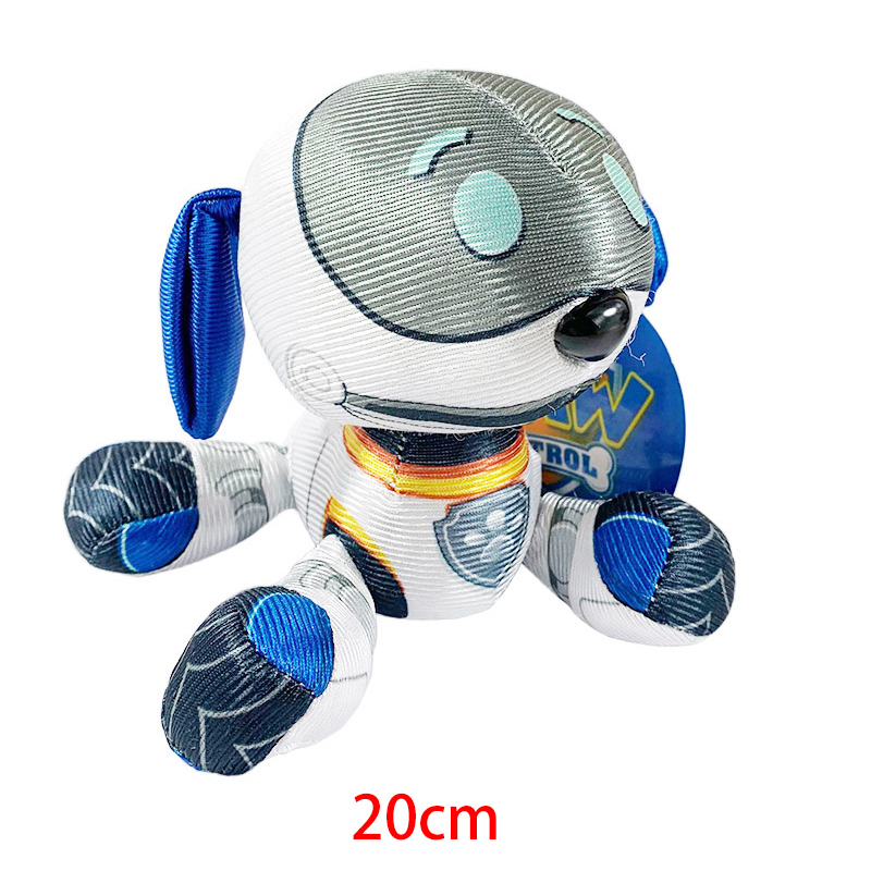 Paw Patrol Ryder Everest Tracker Cartoon Animal Stuffed Plush Toys Model Patrols Toys Party Dolls For Child Birthday Xmas Gift 6