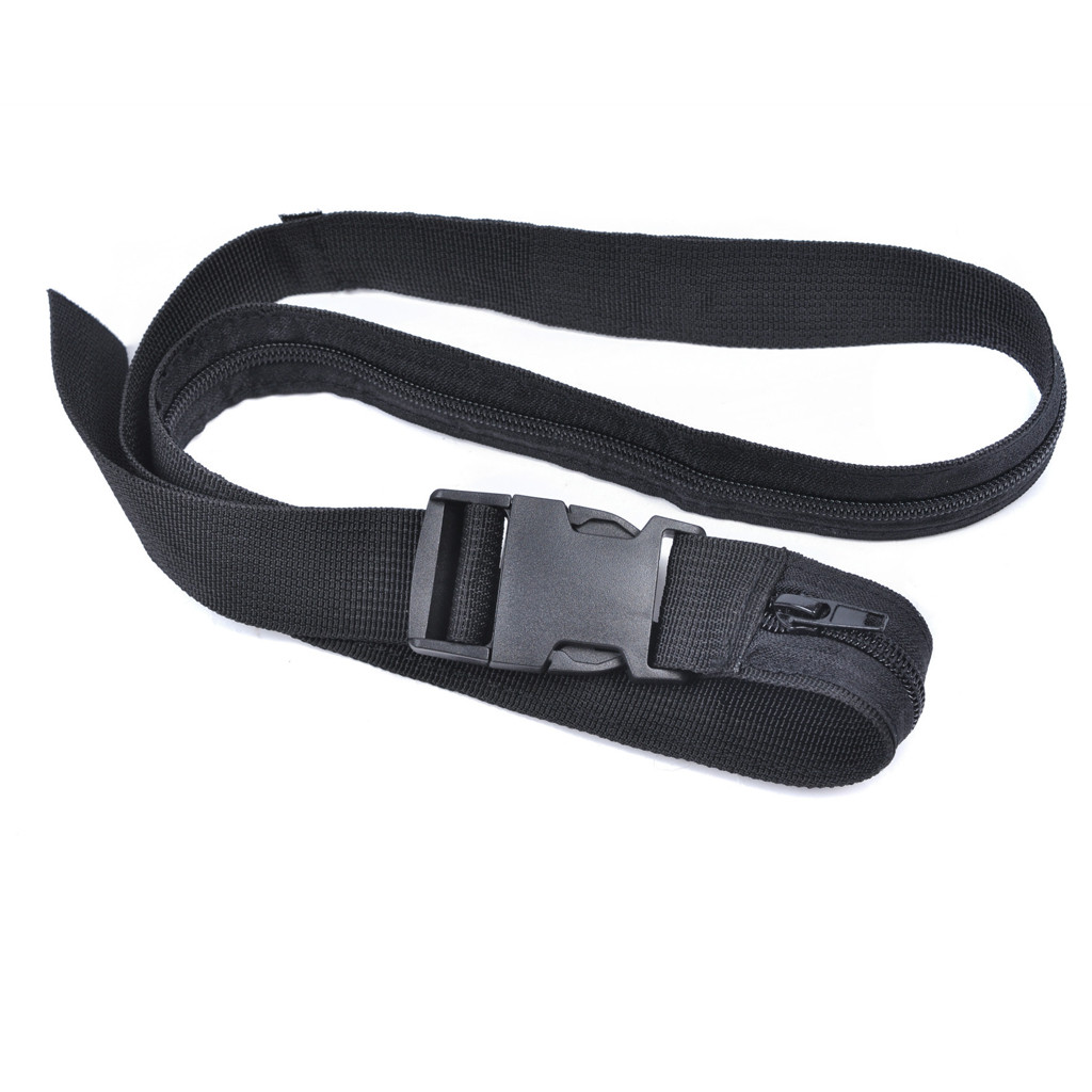 Travel Security Money Belt Hidden Money Pocket Cashsafe Anti-Theft Wallet Belt  Z914