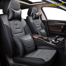 Car-Seat-Covers Auto-Accessories Logan Kadjar Renault Captur Megane Fluence Duster Laguna