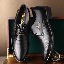 Модные мужские кожаные туфли больших размеров, размер 48