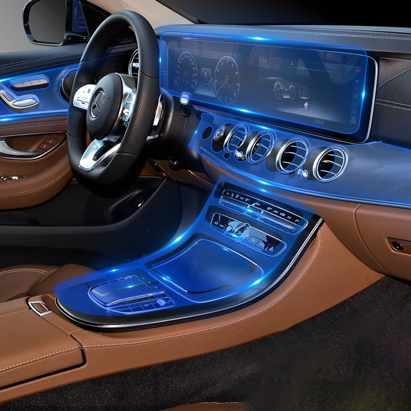 Lsrtw2017 TPU Автомобильная передача gps Навигация экран приборной панели против царапин пленка защитная для Mercedes Benz E класс w213 2016-2020