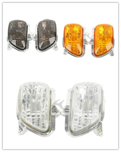 Motorcycle Front Turn Signal Lights Lens Shell For Honda Goldwing GL1800 2001-2017 11 clear/ smoke/ orange