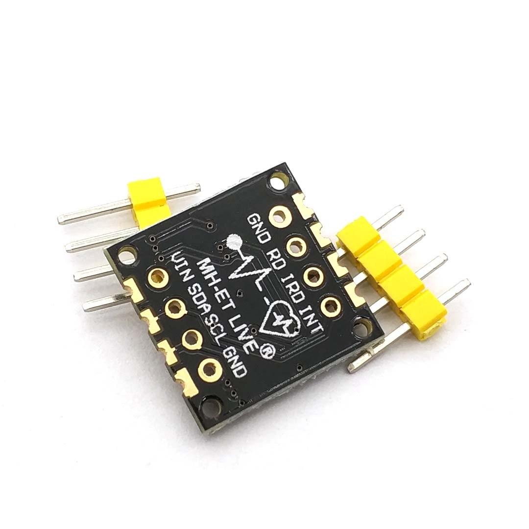 MH-ET LIVE MAX30100 датчик пульса модуль датчика пульса прорыв ультра-низкое энергопотребление для Uno