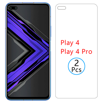 Перейти на Алиэкспресс и купить Чехол для honor play 4 pro, 5g, закаленное стекло, Защита экрана для huawei honer play4 4pro, защитный чехол для телефона, сумка global