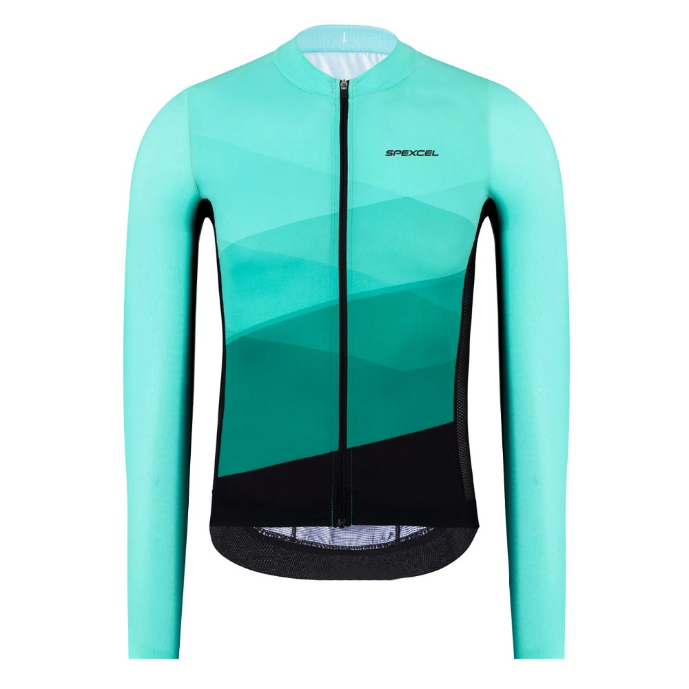 2019 SPEXCEL lightweight pro team long sleeve cycling jersey race jersey bicycle tight fit cycling shirt micro super fabric