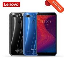 Versão global lenovo celular 3gb 32gb k5 jogar face id 4g smartphone 5.7 polegada snapdragon octa núcleo câmera traseira 13mp 2mp