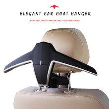 E-FOUR Car Coat Hanger Headrest Back Seat Multi-functional for Suit Jacket Universal Fit of Vehicles