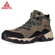 Мужские кожаные ботинки на платформе humtto зимние боевые военные