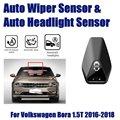 Для Volkswagen VW Bora 1 5 T 2016 ~ 2018 автомобильные автоматические датчики стеклоочистителя дождя и датчик фар умная система автоматического вождения