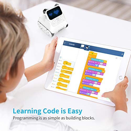 Makeblock Codey Rocky Programmable Robot, Fun Toys Gift to Learn AI, Python, Remote Control for Kids Age 6+ 2