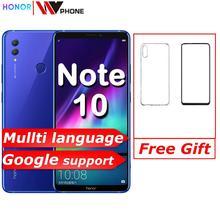 Nota de honra 10 telefone móvel kirin 970 octa núcleo do telefone móvel duplo sim 6.95 polegada android 8.1 impressão digital id nfc