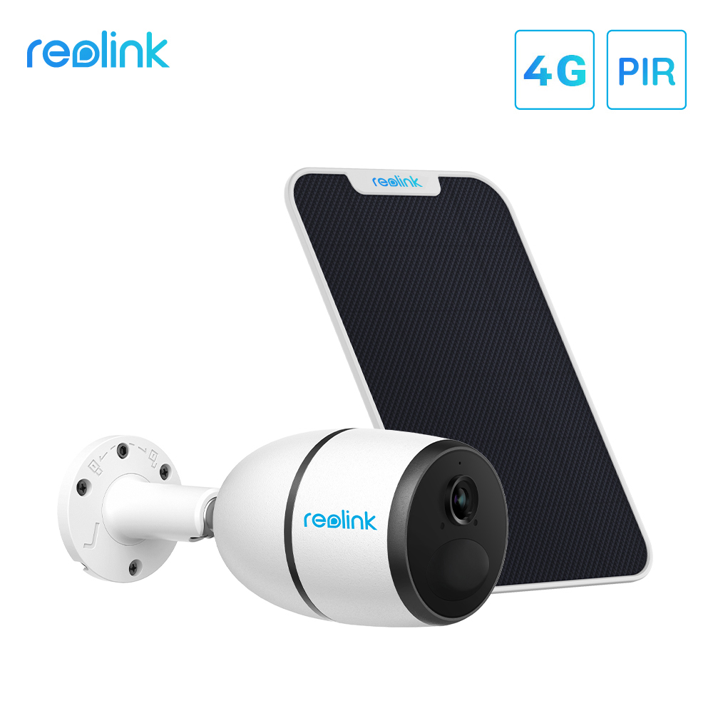 Сетевая камера Reolink GO с солнечной панелью, 4G Sim-карта, сетевая камера Starlight Vision Wild для видеонаблюдения, IP-камера