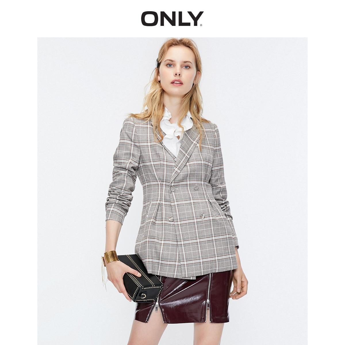 Women's Slim Fit Checked Blazer  | 119308508