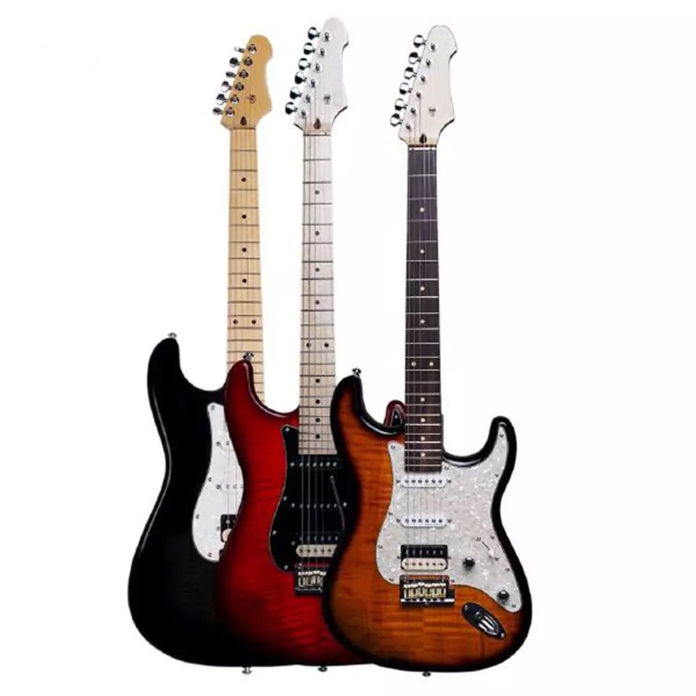 Электрическая гитара цвета музыкальные Струнные инструменты аксессуары для гитары бренд хорошая Профессиональная Гитара ras Китай oem