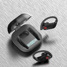 Wireless Earphones Stereo Headphone In-ear Earbuds True Hifi Sport Headset With LED Digital Display Touch Control
