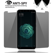 Anti-Spy Tempered Glass For ASUS 2 3 Laser 3 3S Max Magic Privacy Screen Protector For ASUS 4 Pro Max 4 Selfie Pro 9H(China)