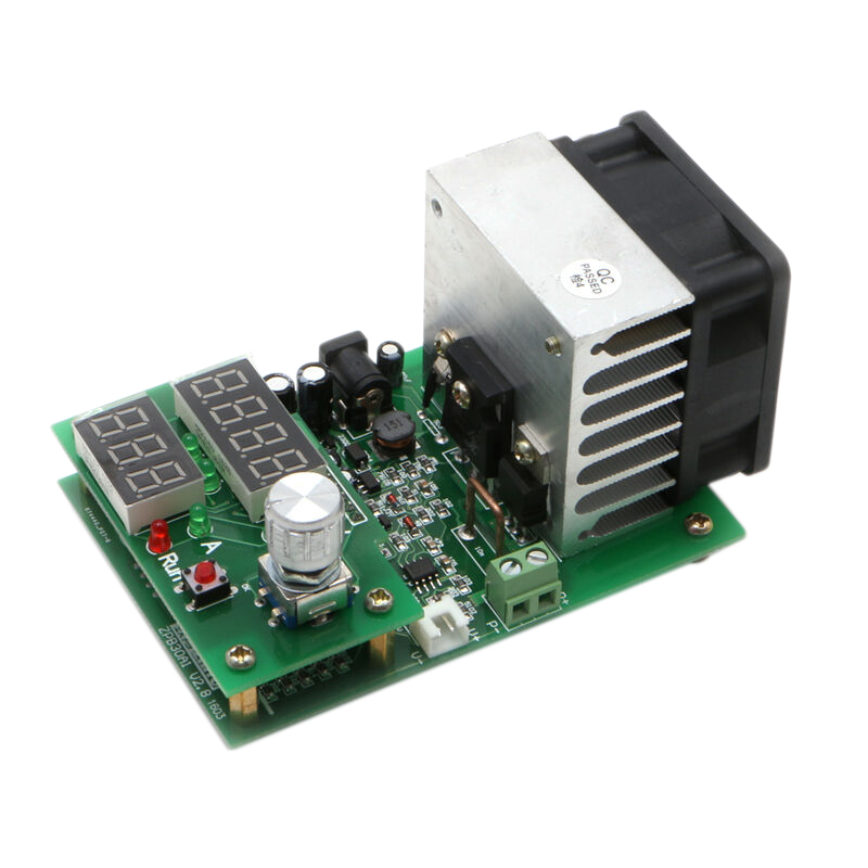 60W Constant Current Electronic Load Module Discharge Battery Capacity Tester Board 9.99A 30V